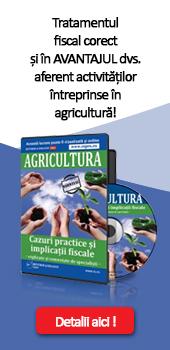 Tratamentul fiscal corect in agricultura
