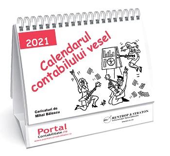 A aparut Calendarul Contabilului Vesel 2021! Contine 12 caricaturi ce garanteaza hohote de ras