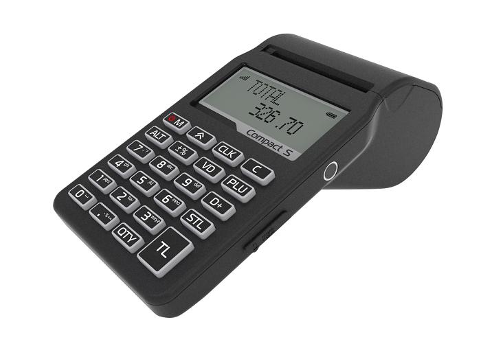 Compact S, casa de marcat de dimensiunea unui telefon mobil