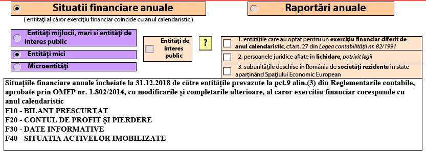 Bilant contabil anual – S1002-S1003-S1005. ANAF a actualizat PDF-ul inteligent