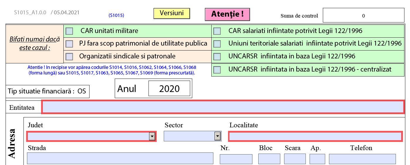 Bilant contabil ONG-uri pentru 2020. ANAF a publicat PDF-ul inteligent - model valabil in 2021