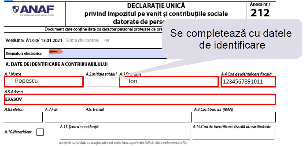 Cum completezi Declaratia unica in 2021 - 5 modele explicate de experti