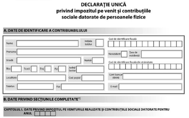 Greseli frecvente COMPLETARE DECLARATIA UNICA 2020 - YouTube  |Declaratia Unica 2020