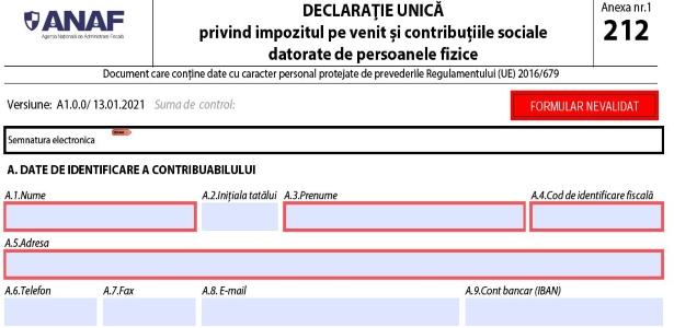 8 intrebari si raspunsuri ANAF despre Declaratia unica privind veniturile din activitati independente