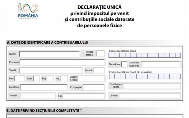 Cum se acorda bonificatiile aferente Declaratiei unice? Conditiile prezentate de ANAF
