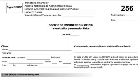 Persoanele fizice care nu au declarat indemnizatiile de la stat vor fi impozitate din OFICIU de ANAF