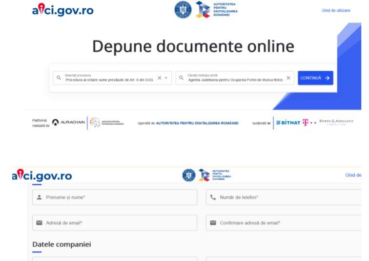 Ghid ANOFM: completarea si transmiterea documentelor pentru obtinerea banilor de la stat (telemunca)