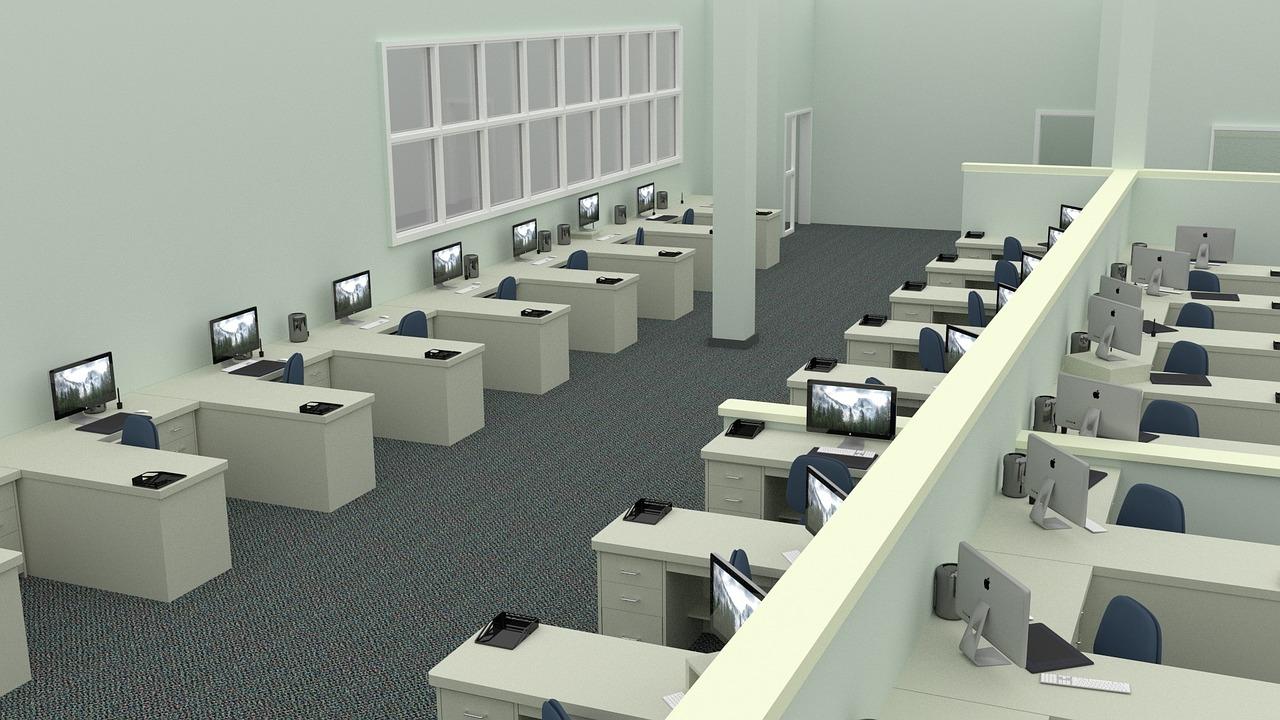 Masuri pentru birourile open-space. Purtarea obligatorie a mastii de protectie si alte reguli pentru angajatori si angajati