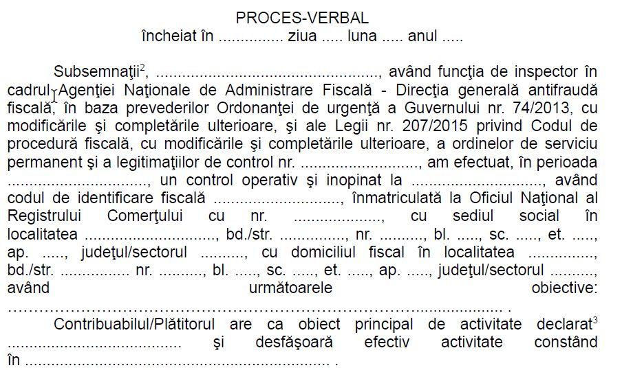 ANAF schimba documentele folosite in activitatea de control a Antifrauda: procese verbale, somatie si invitatie