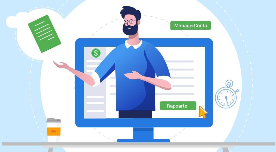 SmartBill ManagerConta - Raportari lunare