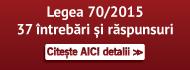 Legea 70/2015