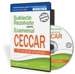 Subiecte Rezolvate pentru Examenul CECCAR - 127 de Solutii si Explicatii