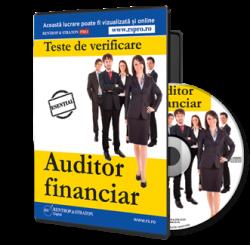 Teste de verificare pentru examenul de auditor financiar