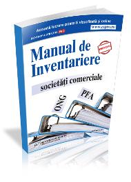 Manualul de Inventariere. Societati Comerciale. PFA.ONG