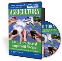 Tratamentul fiscal aferent activitatilor intreprinse in agricultura