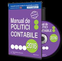 Manualul de politici contabile, format editabil