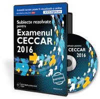 Subiecte rezolvate pentru examenul CECCAR 2016