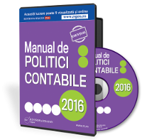 Manual de politici contabile, 100% editabil