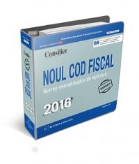 Noul Cod fiscal 2016: lucrare actualizata permanent