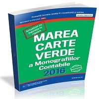 Marea Carte Verde a  Monografiilor Contabile 2016