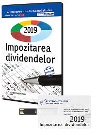 Impozitarea dividendelor in 2018