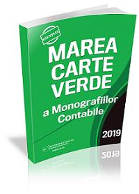 Marea Carte Verde a Monografiilor Contabile 2019