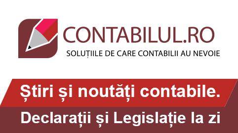Legislatie contabila actualizata